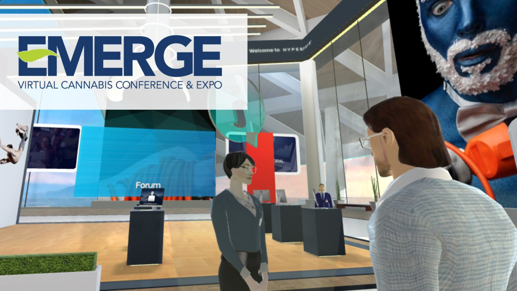 The Emerge 3D Virtual Conference & Expo