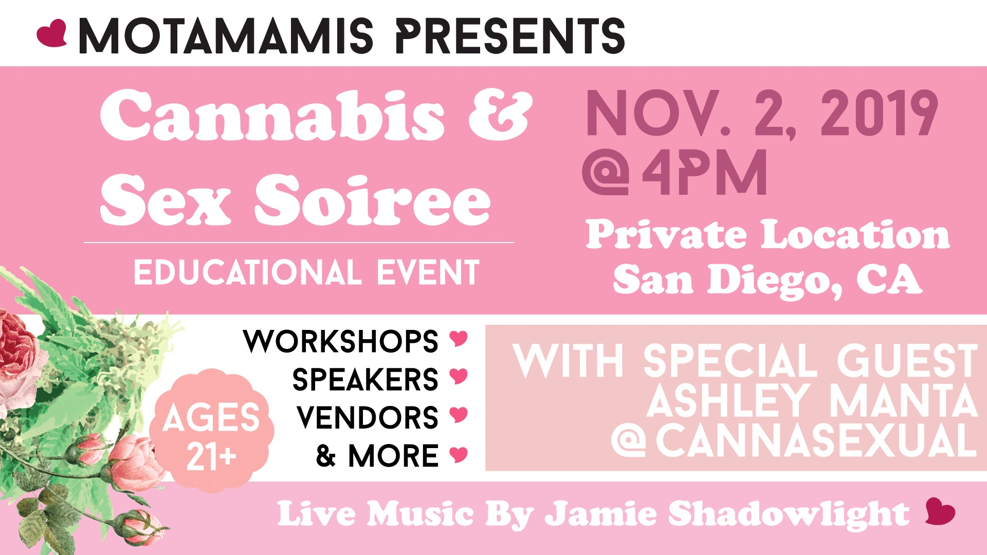 Cannabis & Sex Soirée