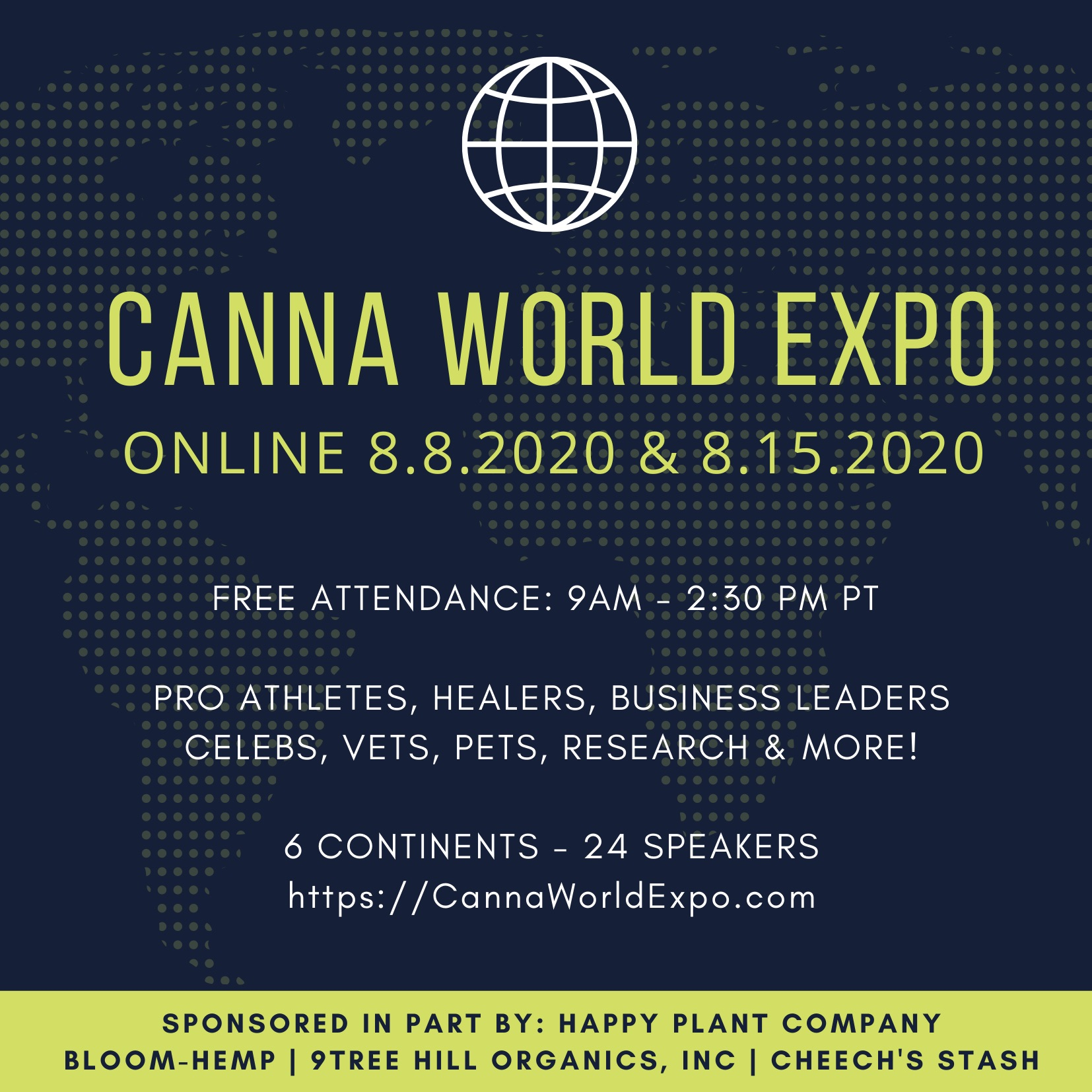 CANNA WORLD EXPO AUGUST ONLINE SYMPOSIUM
