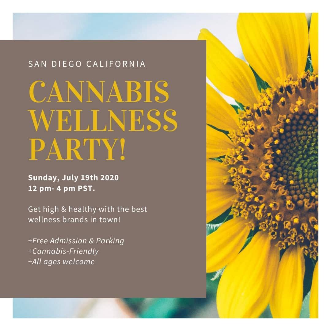 Cannabis Wellness Party San Diego