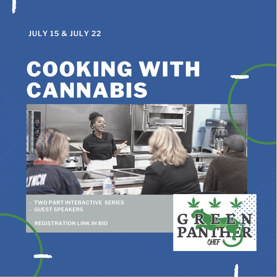 Cooking with Cannabis Interactive Series