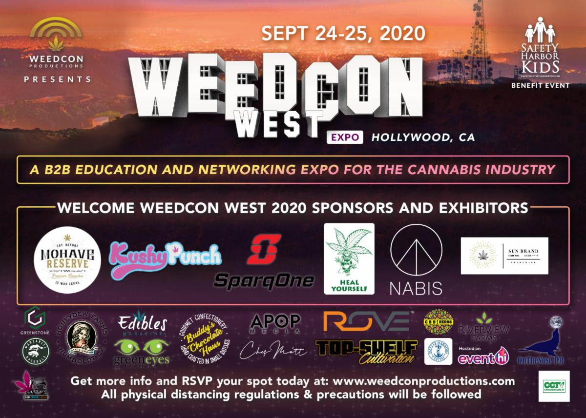 WEEDCon West 2020