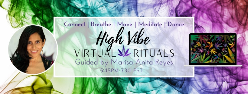 High Vibe Virtual Ritual Free First Wednesday
