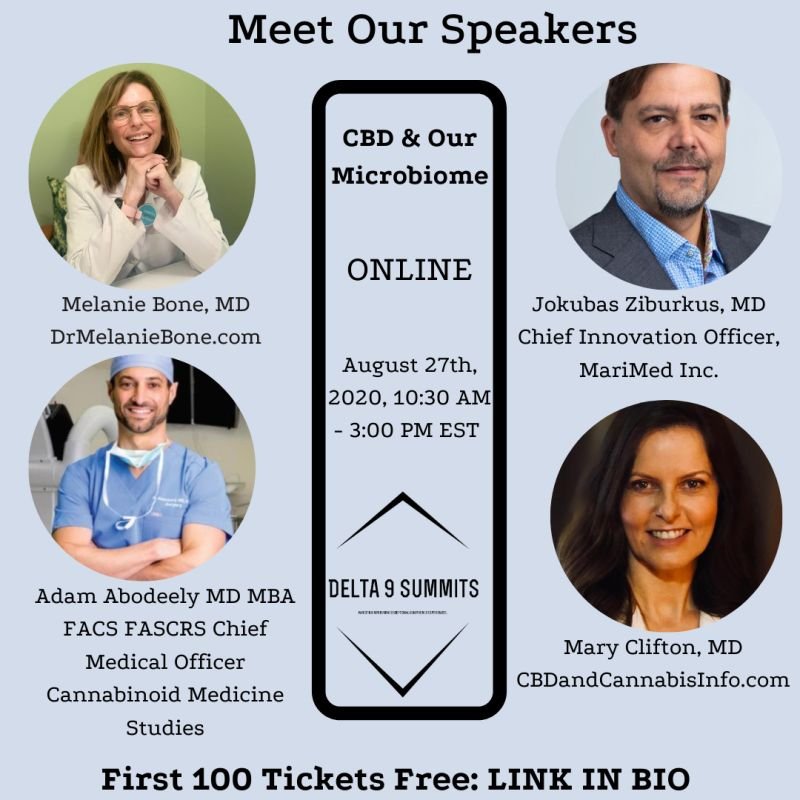 CBD & Our Microbiome, an Online Media Event