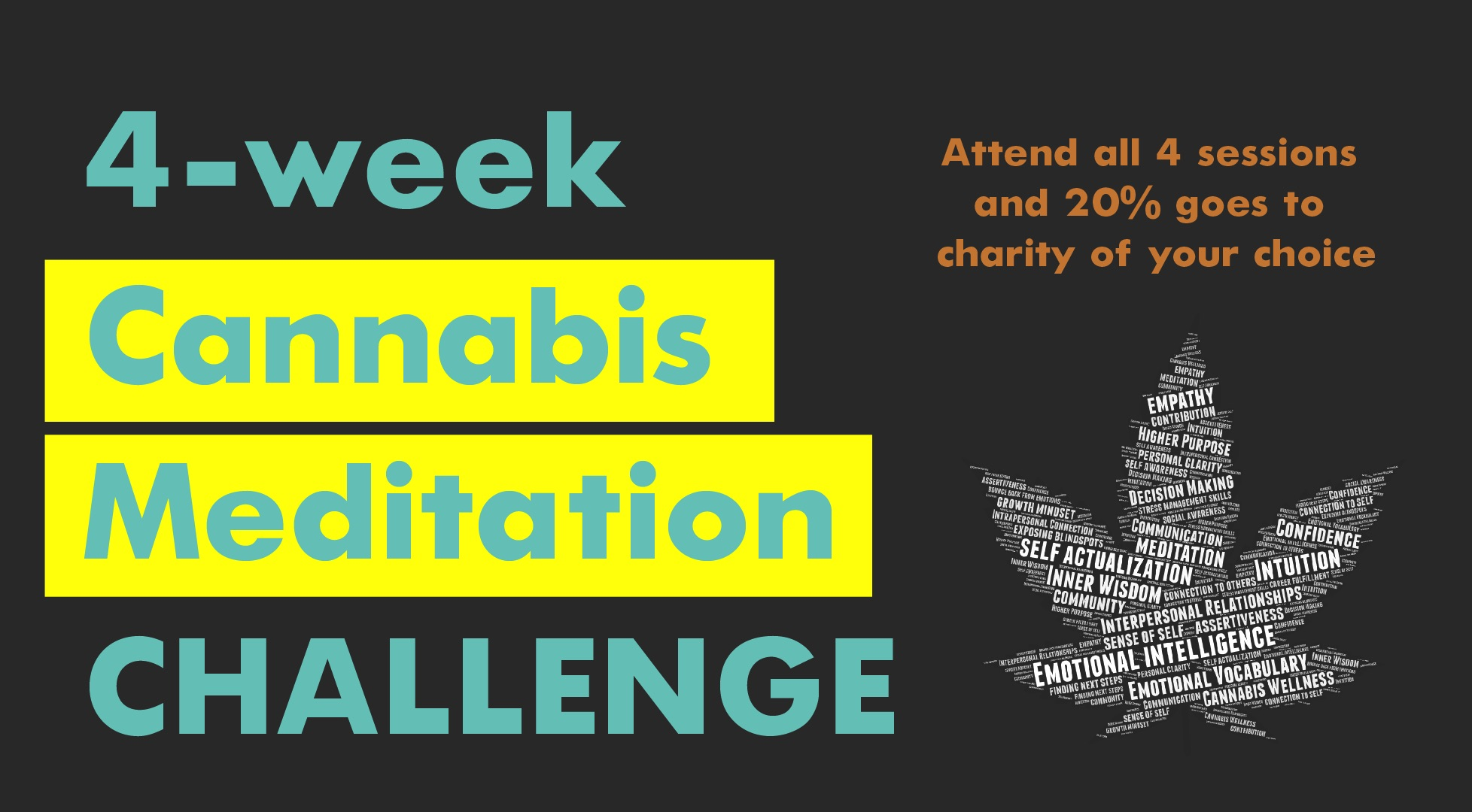 4-Week Cannabis Meditation Challenge