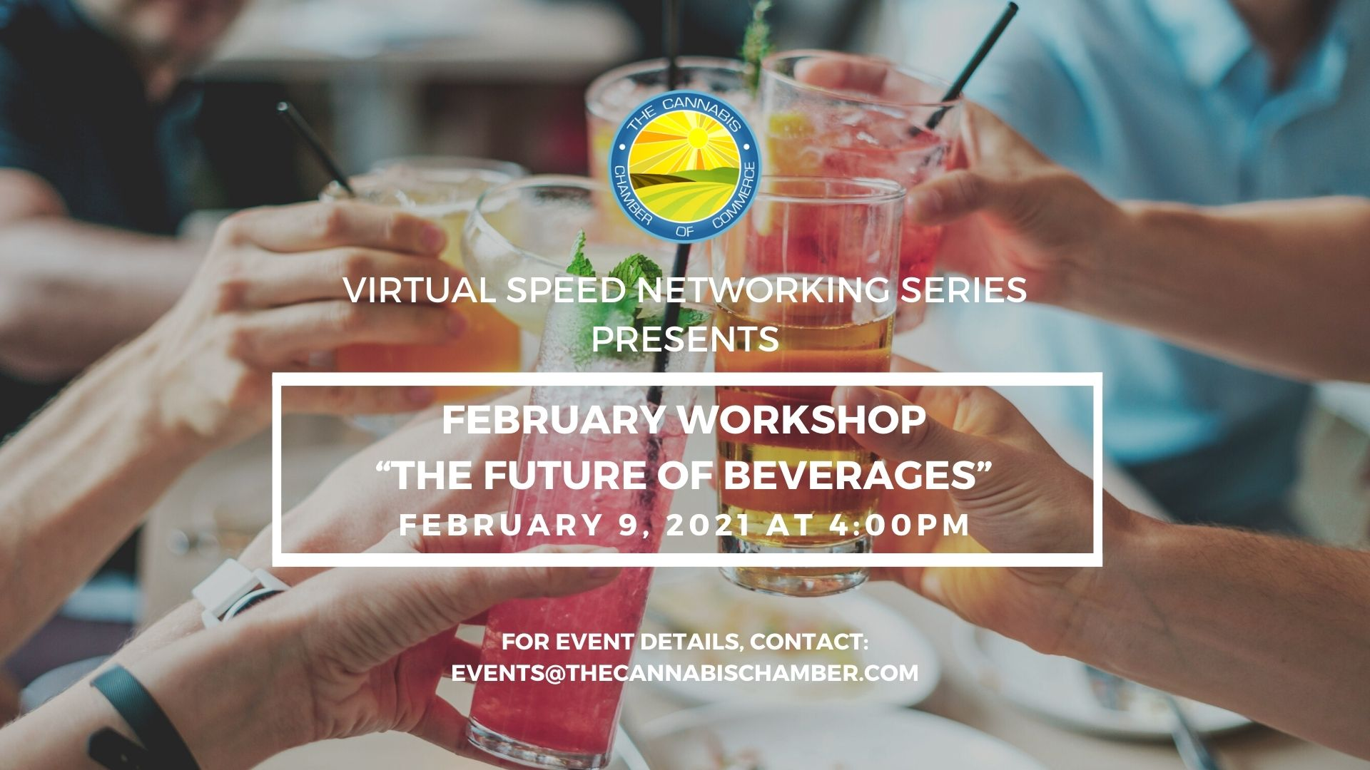 The Future of Beverages: Virtual Speed Networking Event