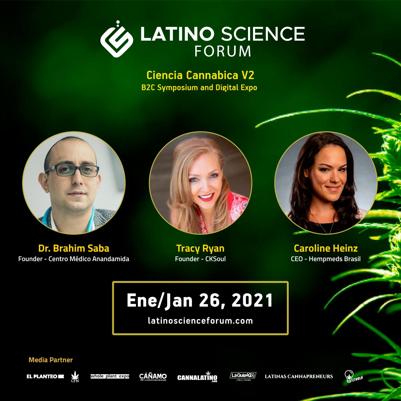 Latino Science Forum 2021 - Ciencia Cannabica - B2C Symposium