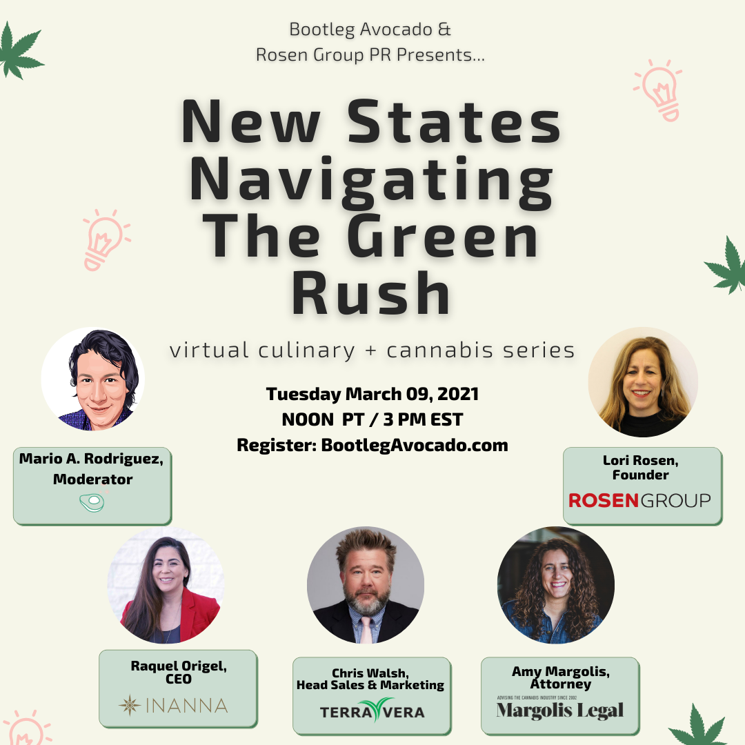 Bootleg Avocado Presents...New States Navigating the Green Rush