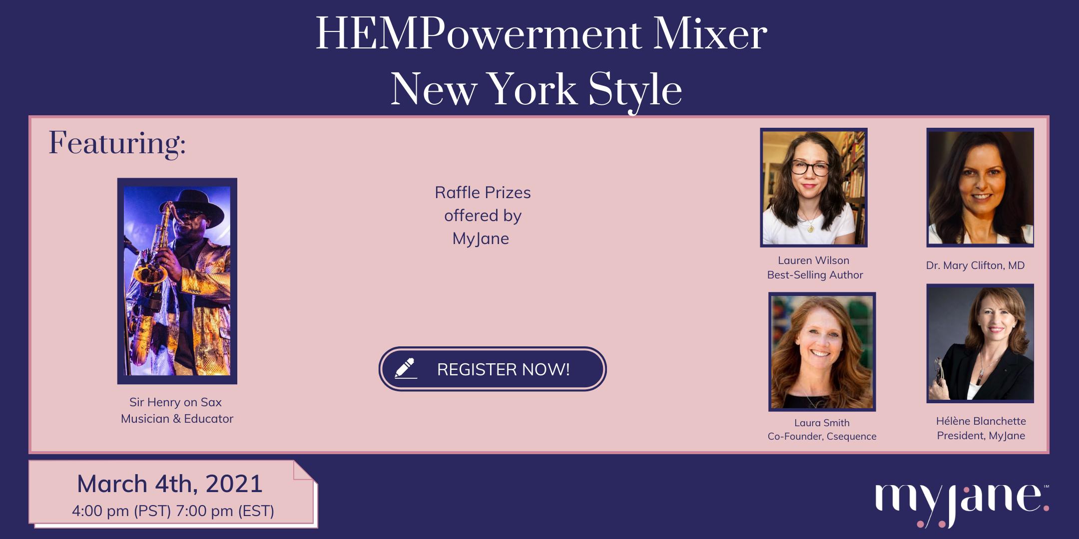 HEMPowerment Mixer - New York Style