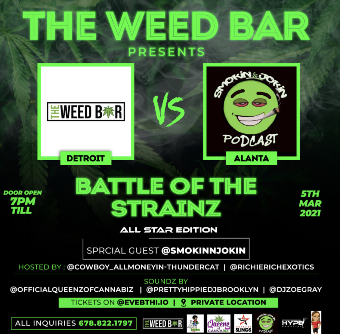 Battle of the Strainz All Star Edition