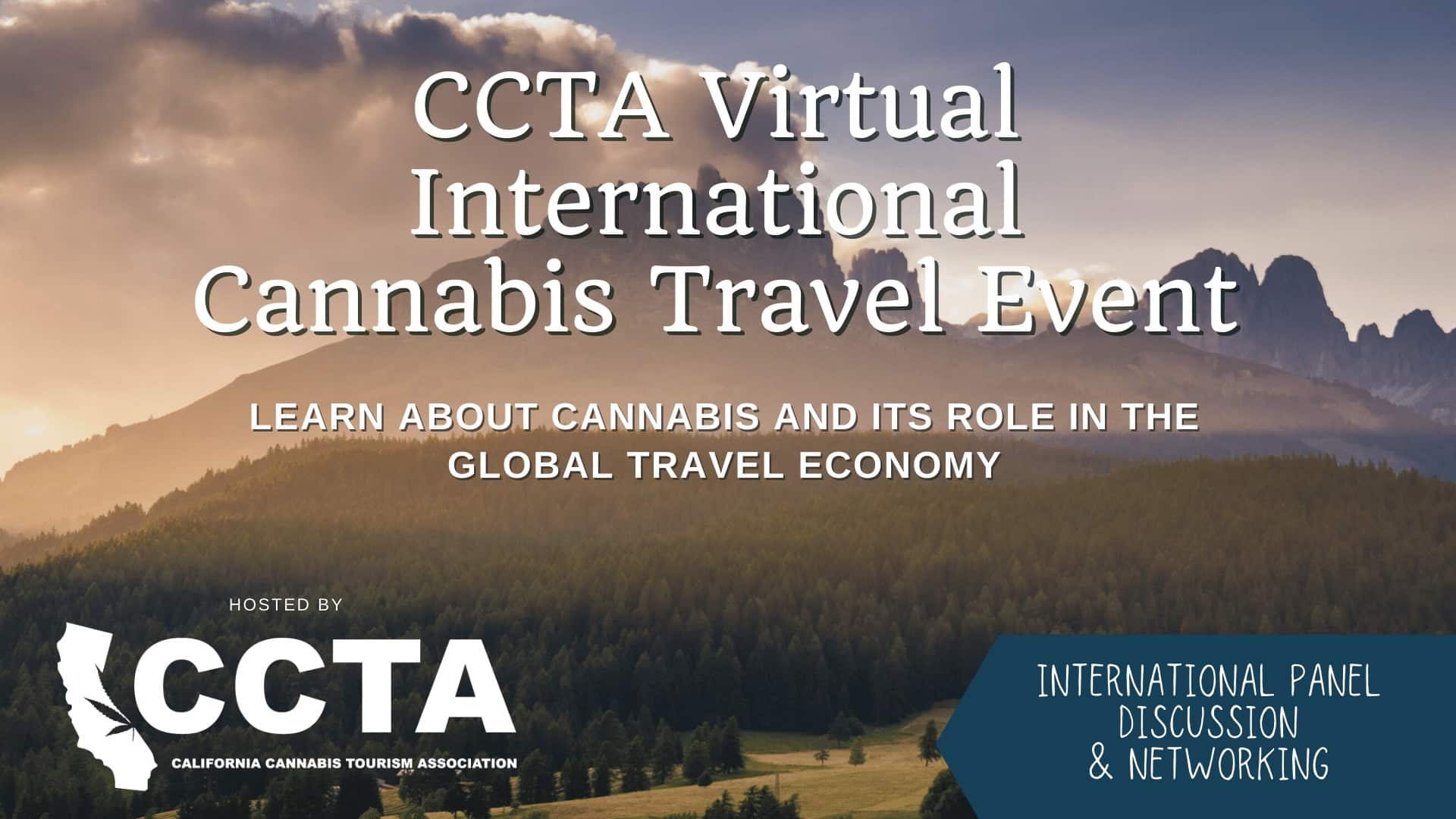 CCTA Virtual International Cannabis Travel Event