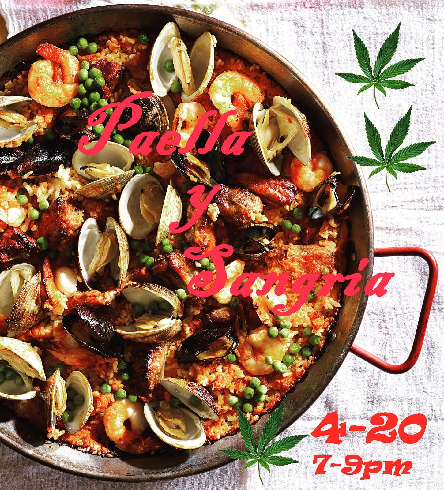 4-20 Paella y Sangria
