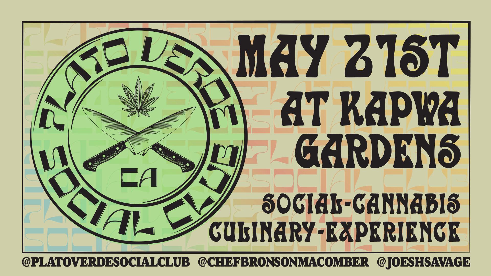 Plato Verde Social Club / Social Cannabis Culinary Experience
