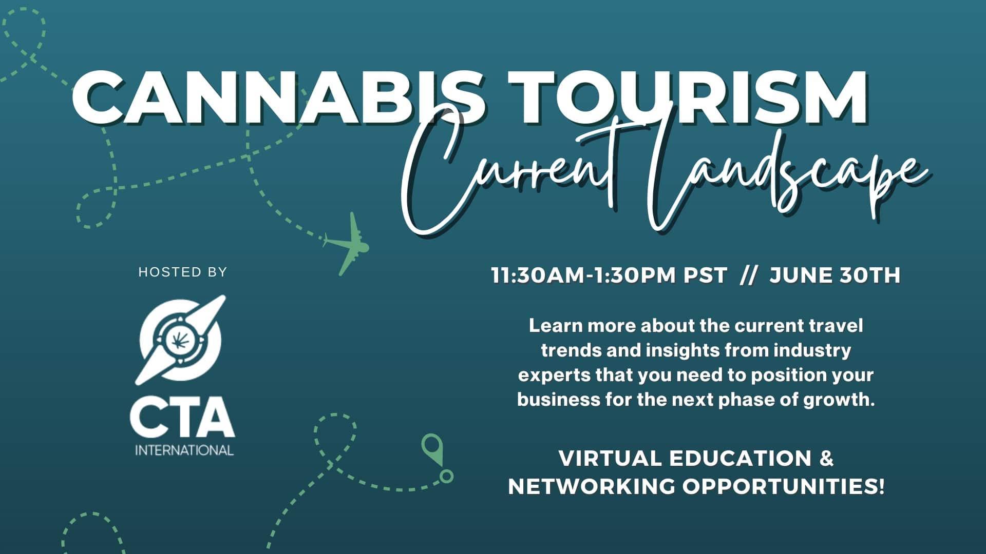 Cannabis Tourism Current Landscape