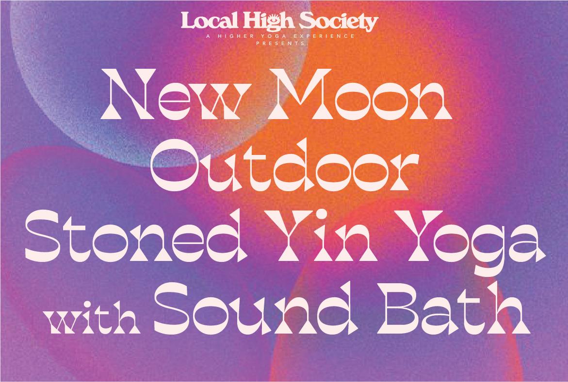 New Moon Outdoor Stoned Yin Yoga + Sound Bath
