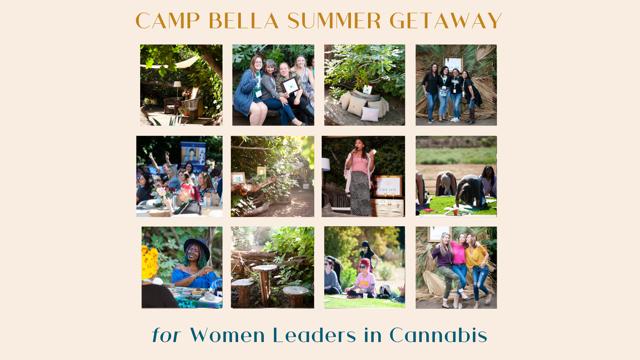 Camp Bella Summer Getaway for Women in Cannabis