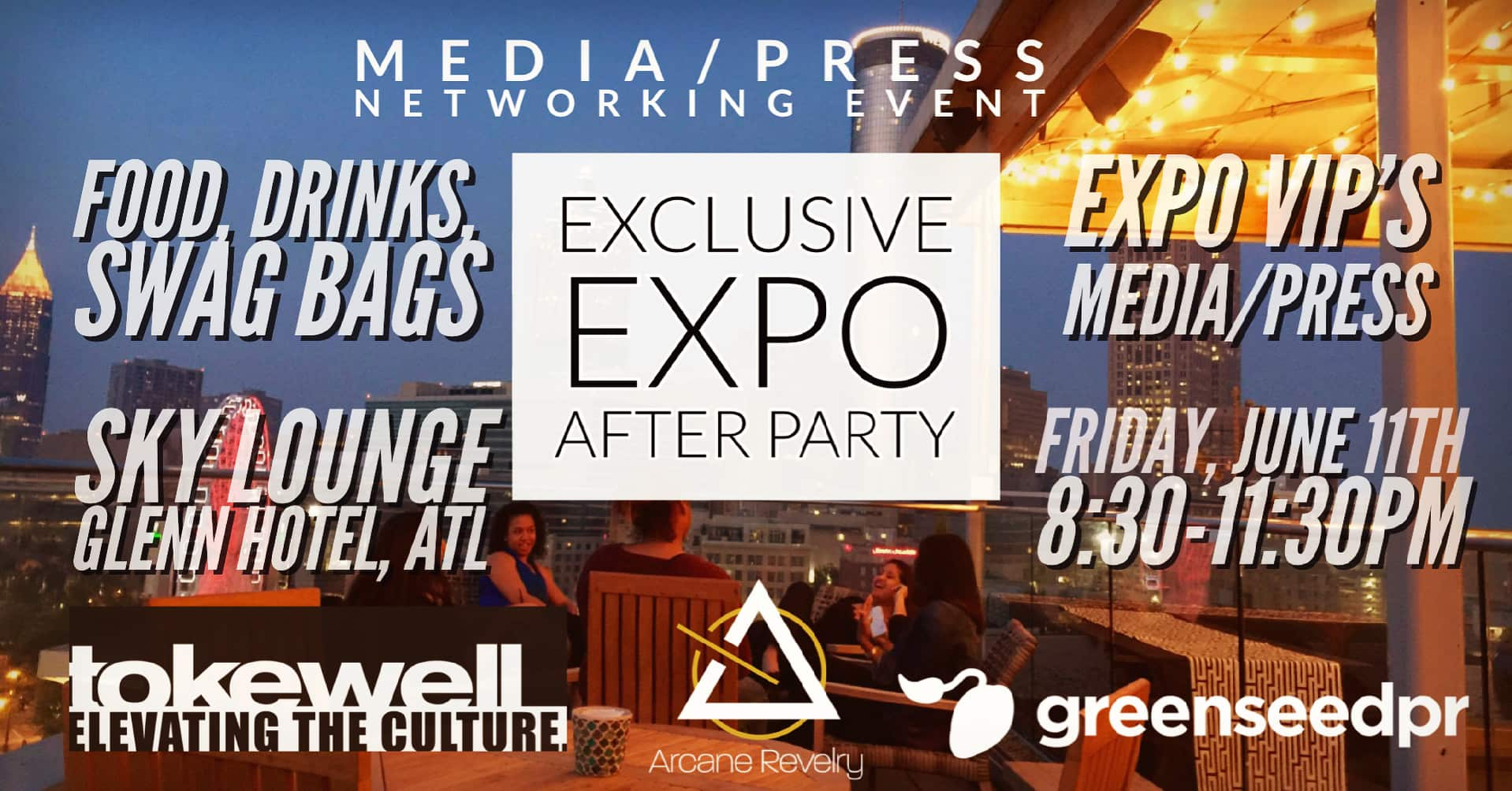 Premier After Party & Networking Social for VIP/PRESS/MEDIA CBD/HEMP Expo