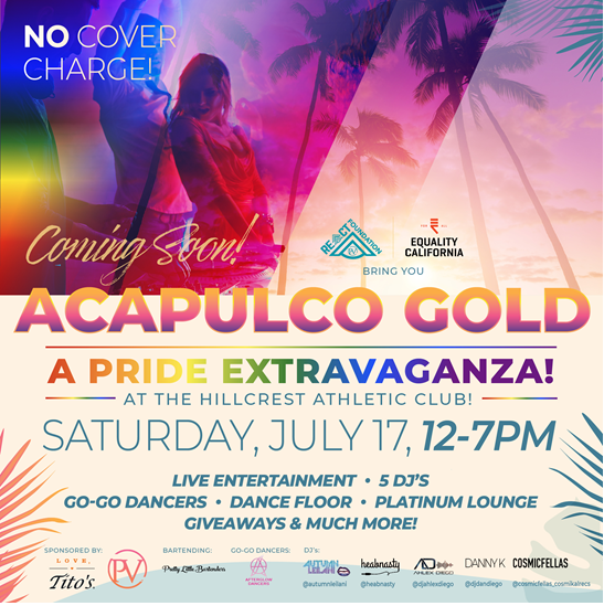 Acapulco Gold - A Pride Celebration