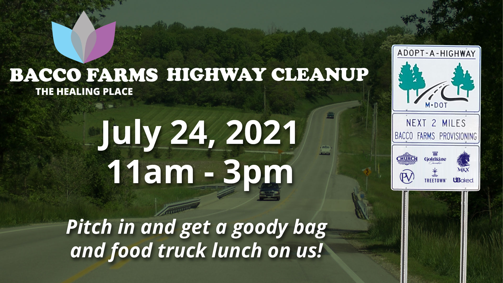Bacco Farms' Adopt-A-Highway Cleanup