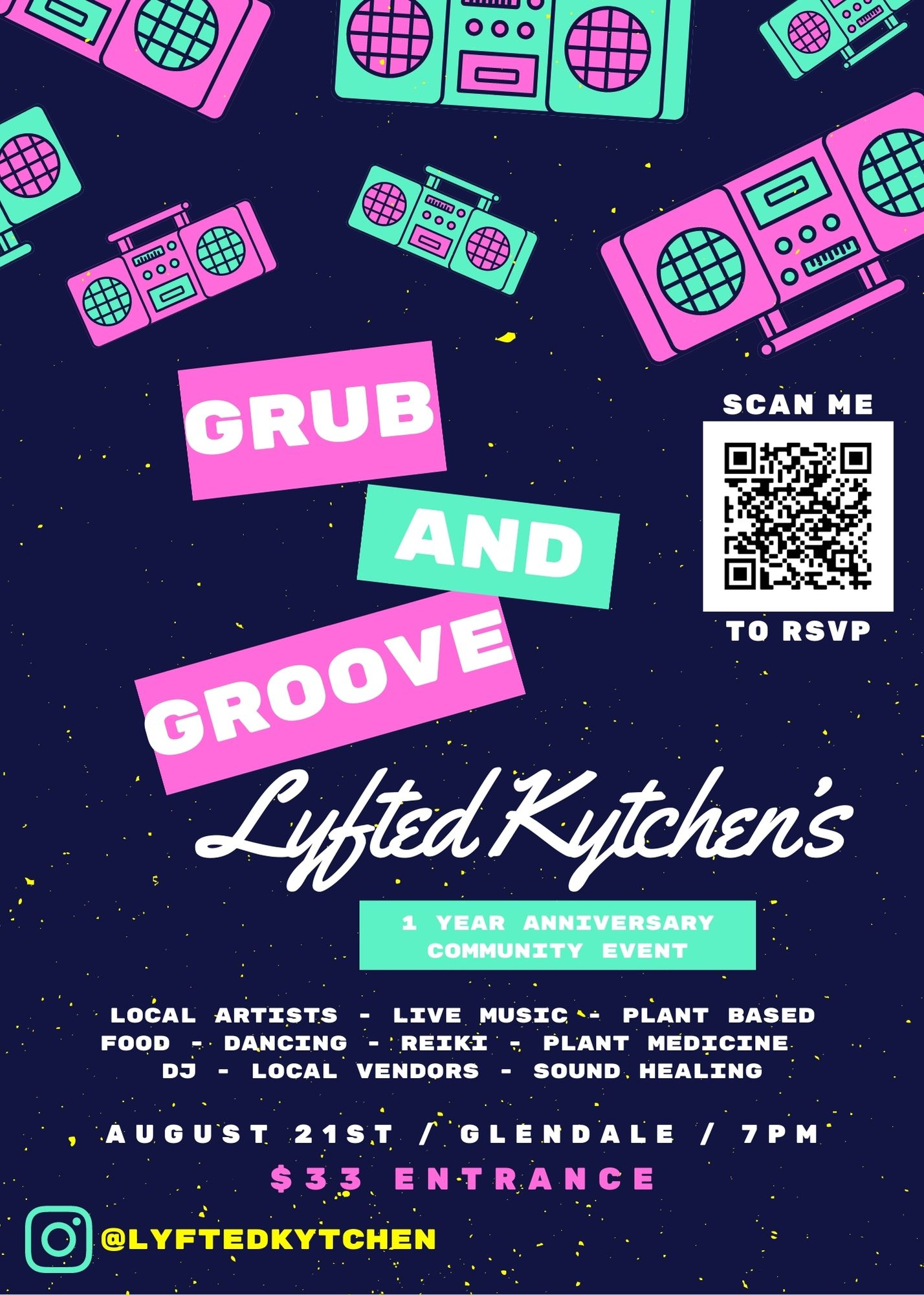 Grub n Groove; A Lyfted Dance Party