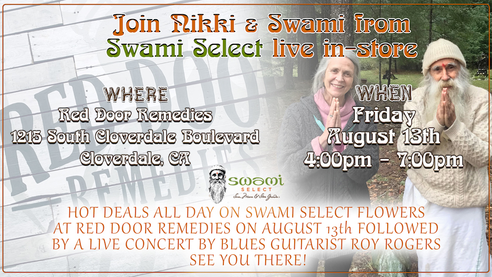 Swami Select In-Store Meet & Greet: Red Door Remedies